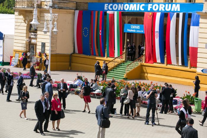Форум в Крынице – место встреч и контактов активных предпринимателей, промышленников, финансистов